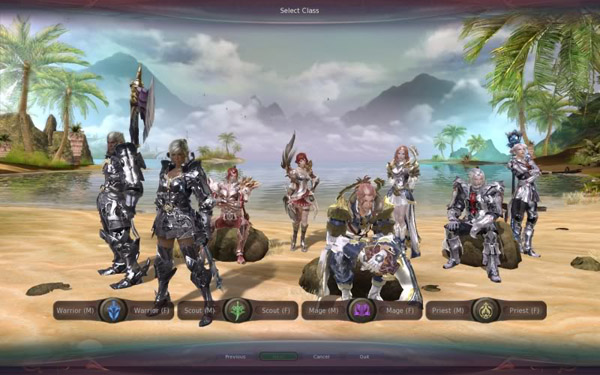 Aion Review: Elyos Classes