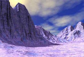 Snowlands Scene