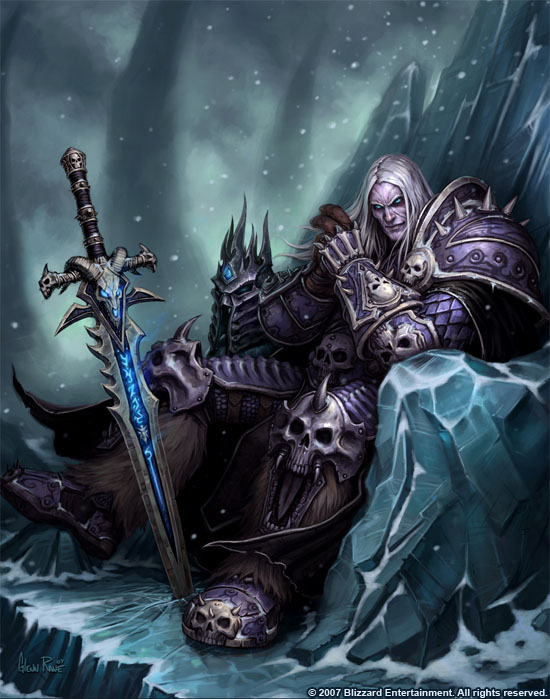 Wrath of the Lich King game wallpaper